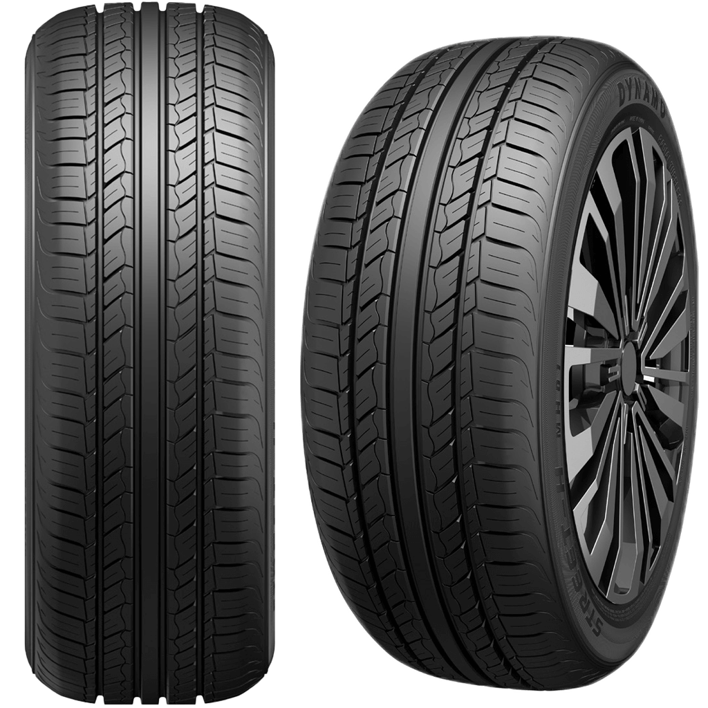 A Pair of Car Tyres