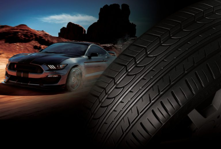 Car Tyre And Car